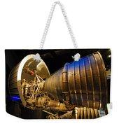Space Rocket Thrust Engine Weekender Tote Bag