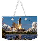 Space Shuttle Atlantis Launch Weekender Tote Bag