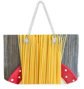 Spaghetti  Weekender Tote Bag by Tom Gowanlock
