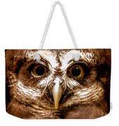 Spectacled Owl  Weekender Tote Bag