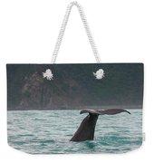 Sperm Whale Diving  Weekender Tote Bag