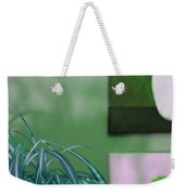 Spider Plant - Green Tulips - Still Life Weekender Tote Bag