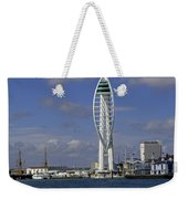 Spinnaker Tower Weekender Tote Bag