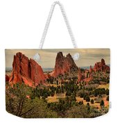 Spires In The Garden Weekender Tote Bag