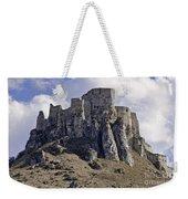 Spissky Hrad Castle Weekender Tote Bag
