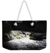 Splashing Australian Water Stream Or Waterfall Weekender Tote Bag