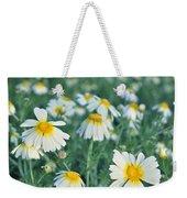 Spring Daisies Weekender Tote Bag