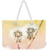 Spring Dandelion Weekender Tote Bag