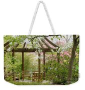 Spring Seating Weekender Tote Bag