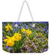 Spring Wildflowers Weekender Tote Bag