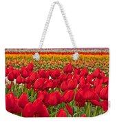 Springtime Tulip Field Art Prints Weekender Tote Bag