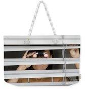 Spying Weekender Tote Bag