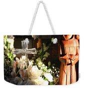 St. Francis Of Assisi By George Wood Weekender Tote Bag