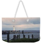St. Ignace Light Weekender Tote Bag