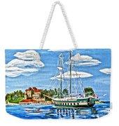 St Lawrence Waterway 1000 Islands Weekender Tote Bag