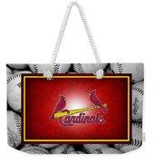 St Louis Cardinals Weekender Tote Bag