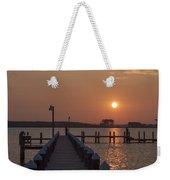 St Marys County Maryland Sunrise Weekender Tote Bag