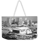 St. Pete Times Forum And Tampa Skyline Weekender Tote Bag