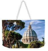 St Peters Basilica Dome Weekender Tote Bag
