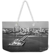 St Petersburg Skyline And Pier Weekender Tote Bag
