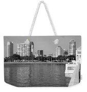 St Petersburg Skyline Weekender Tote Bag