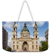St. Stephen's Basilica In Budapest Weekender Tote Bag