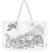 Stagecoach Robbery Weekender Tote Bag