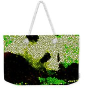Stained Glass Panda 2 Weekender Tote Bag