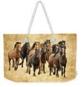 Stampede Of Wild Horses Weekender Tote Bag