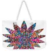 Star Ufo U.f.o. Sprinkled Crystal Stone Graphic Decorations Navinjoshi  Rights Managed Images Graphi Weekender Tote Bag