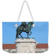 Statue Of King Jose I In Lisbon Weekender Tote Bag