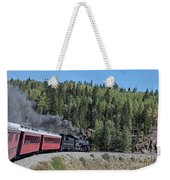 Steam Engine 488 At Osier On The Cumbres And Toltec Scenic Railroad Weekender Tote Bag