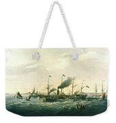 Steamship Weekender Tote Bag