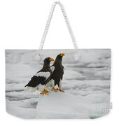Stellers Sea Eagles Weekender Tote Bag