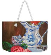 Rose And Pitcher Jenny Lee Discount Weekender Tote Bag