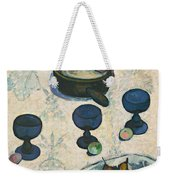 Still Life With Three Puppies Weekender Tote Bag