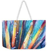 Spine Of Urchin Weekender Tote Bag by Ashley Kujan