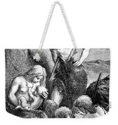 Stone Age Family Weekender Tote Bag