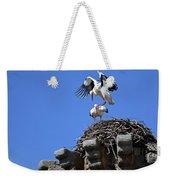 Storks On Top Of Valdecorneja Castle Weekender Tote Bag