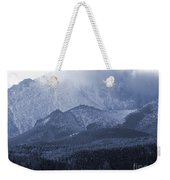 Stormy Peak Weekender Tote Bag
