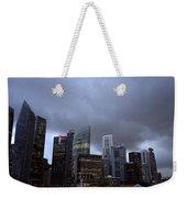Stormy Singapore Weekender Tote Bag