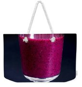 Strawberry Blueberry Smoothie Weekender Tote Bag