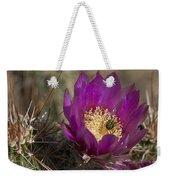 Strawberry Hedgehog Flower Weekender Tote Bag
