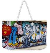 Street Art Valparaiso Chile 15 Weekender Tote Bag