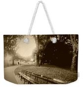 Strolling Through The Park Weekender Tote Bag