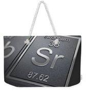Strontium Chemical Element Weekender Tote Bag