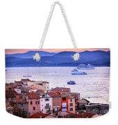 St.tropez At Sunset Weekender Tote Bag by Elena Elisseeva