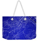 Stuttgart Street Map - Stuttgart Germany Road Map Art On Colored Weekender Tote Bag