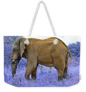 Styled Environment-the Modern Elephant Bull Weekender Tote Bag