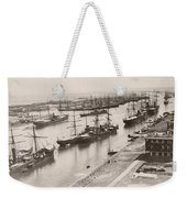 Suez Canal Port Said Weekender Tote Bag